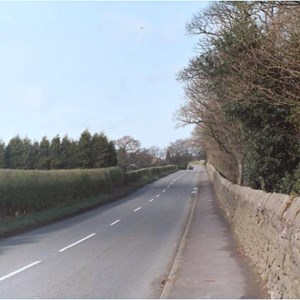 New Road linking Roscoe Lowe and Horrobin Lane