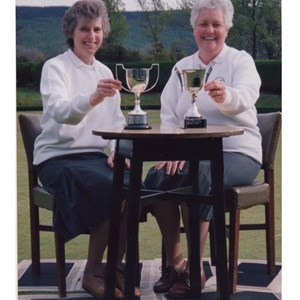 Mary and Jean Smith Guisborough and Brotton Ladies Open Winner 1991