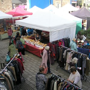 Totnes Friday & Saturday Market