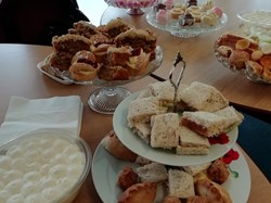 Afternoon Tea last Sunday of the closed season Whitstable Lady Bowlers Style