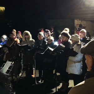 Boughton Monchelsea Parish Council Carols on the green