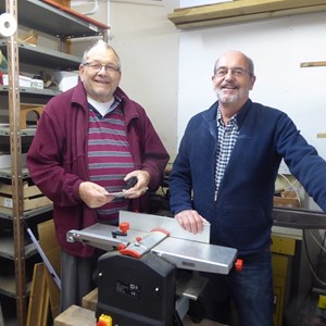 Chris Baker and Patrick Abrahams (Westbury & Frome Sheds)
