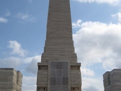 Helles Memorial, Gallipoli c/o Pat Pennington