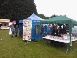 Stalls at Village Day