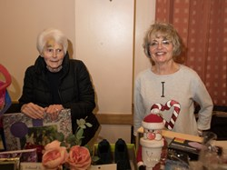 Diana and Barbara with the Bric a Brac