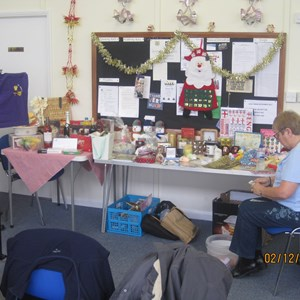 Westbrook Bowls Club 2017 12 02 Christmas Coffee Morning