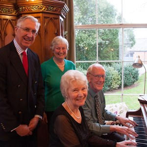 Piano, Poetry & Prose .....Joyce and Brian Hall, Christine Hemmingway and John McGregor