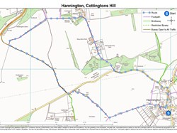 Hannington, Cottington Hill Walk
