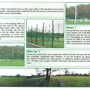 Broseley Town Council Multi Use games Area