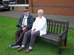 Don and Pat at the open day
