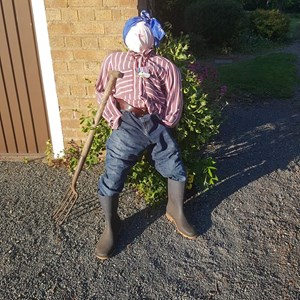 Bleasby Community Website Scarecrows, Pallets & Cones 2020