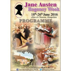 2016 Jane Austen Regency Week Programme