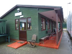 Farnsfield tennis club clubhouse
