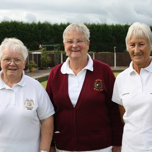 Ladies 4 wood finalists