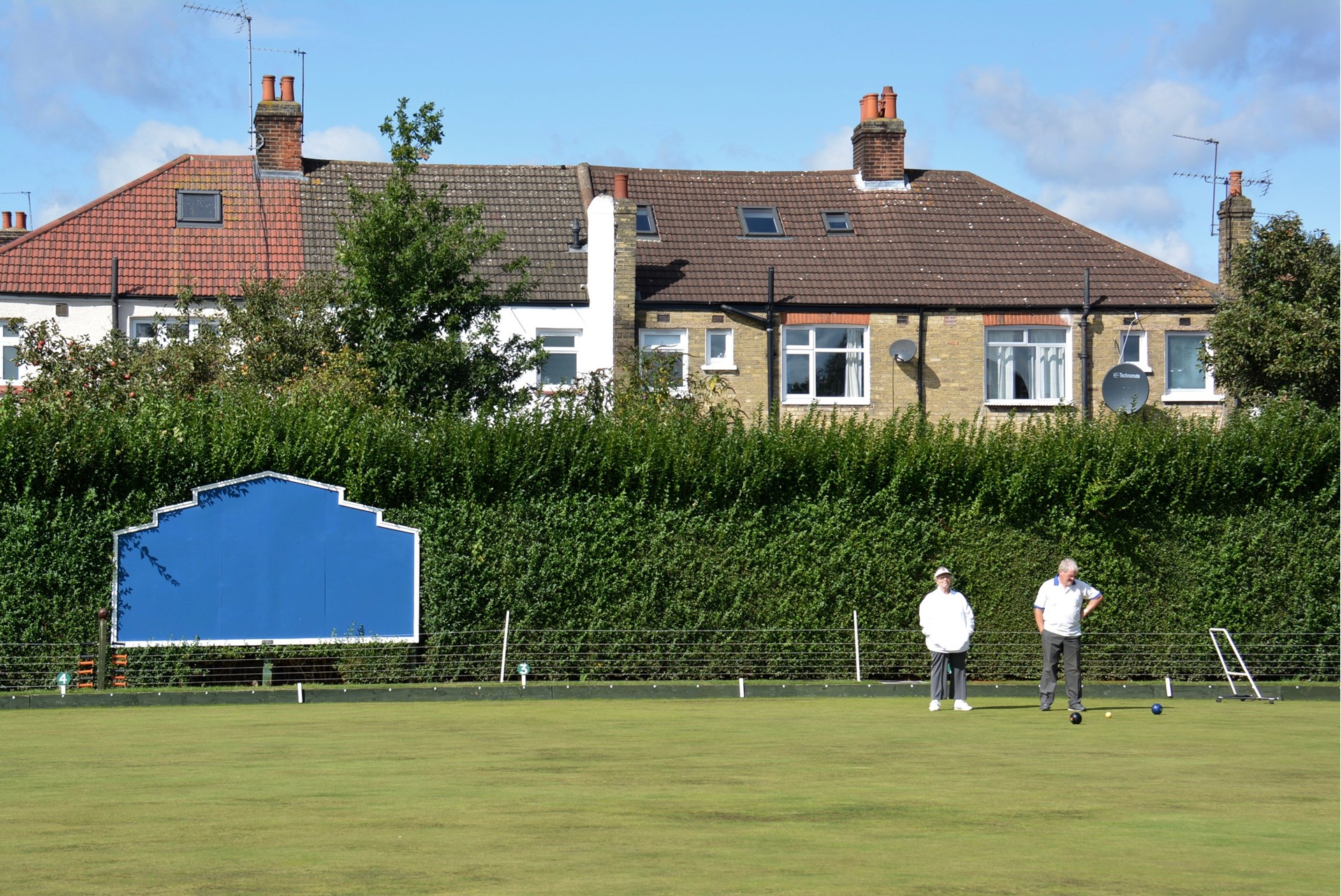 Broomfield Bowls Club Council Maintained Hedge