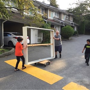 Moving the Bed - Coquitlam Men's Shed