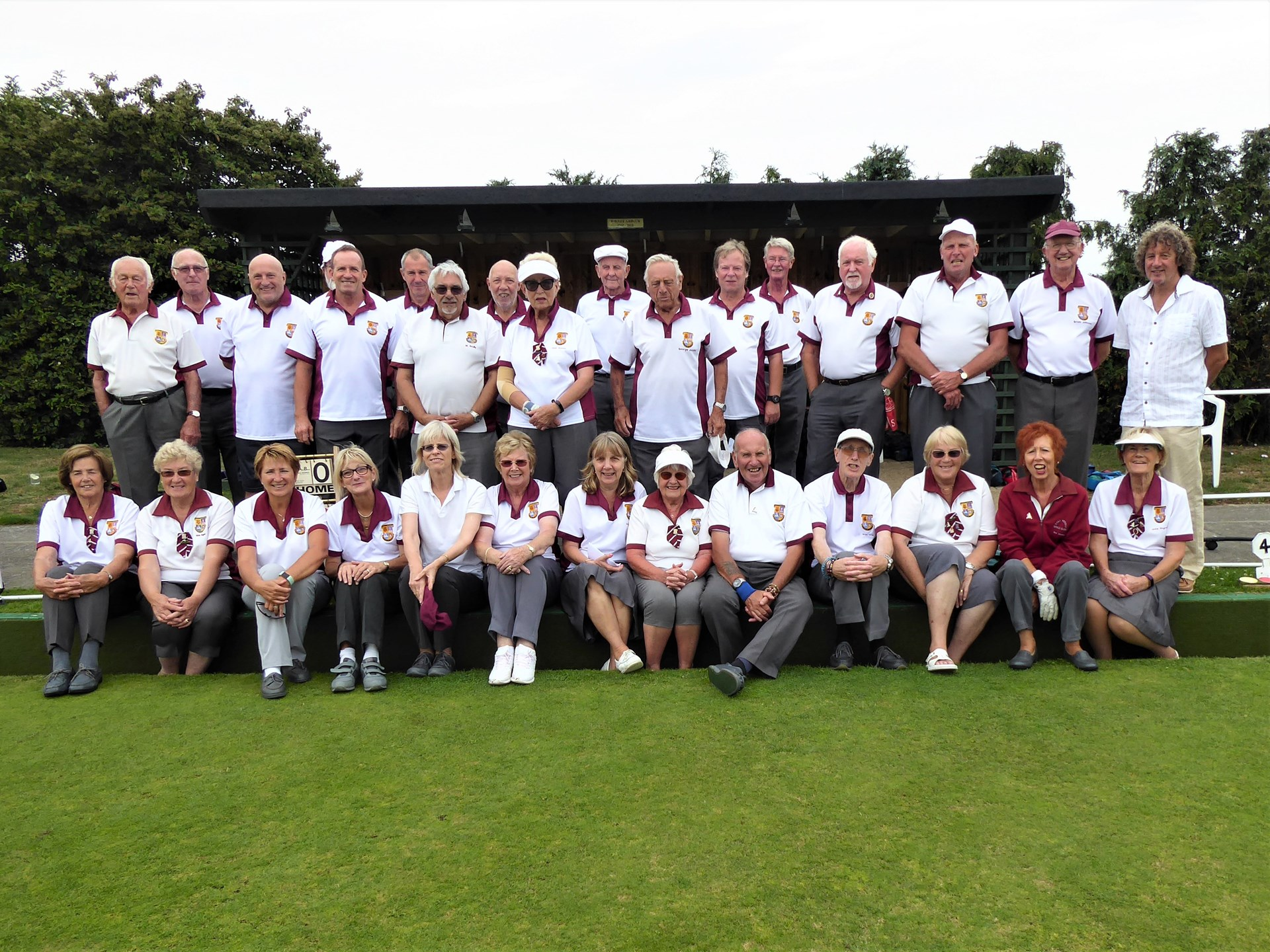 West Mersea Bowls Club 2019 Ladies v Men