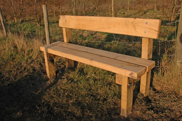 Bench 7: The Moors, Little Wenlock Parish Council