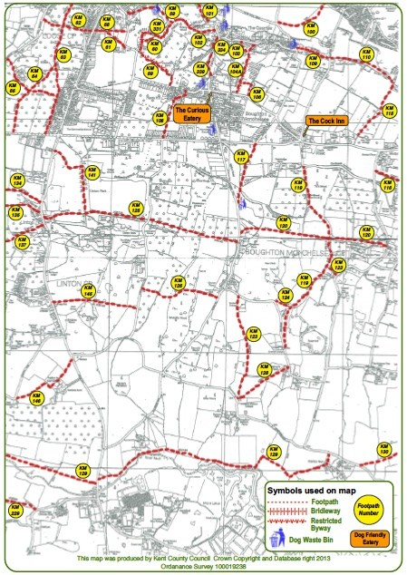Boughton Monchelsea Parish Council Parish footpaths and dog walks