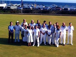 Wingrave Bowls Club Wingrave bowlers on tour