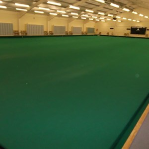 Indoor bowls hall