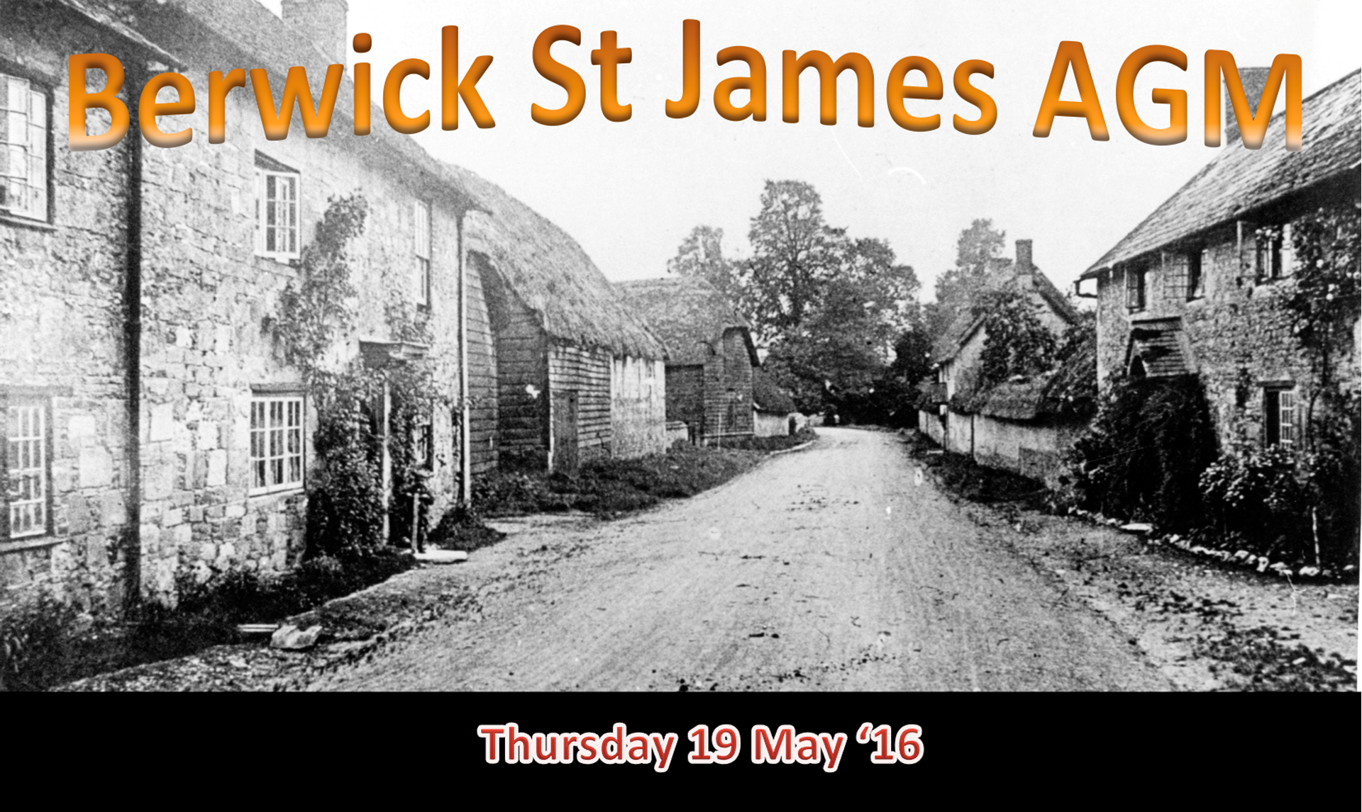 Berwick St James Parish Community Village Meeting - 19 May '16