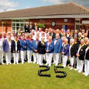 Bowls England and H. of F. Teams