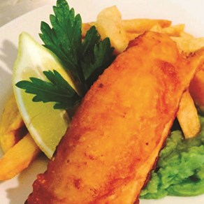Excellent fish & chips