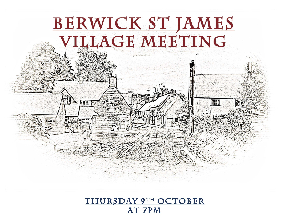 Berwick St James Parish Community 9 October '14