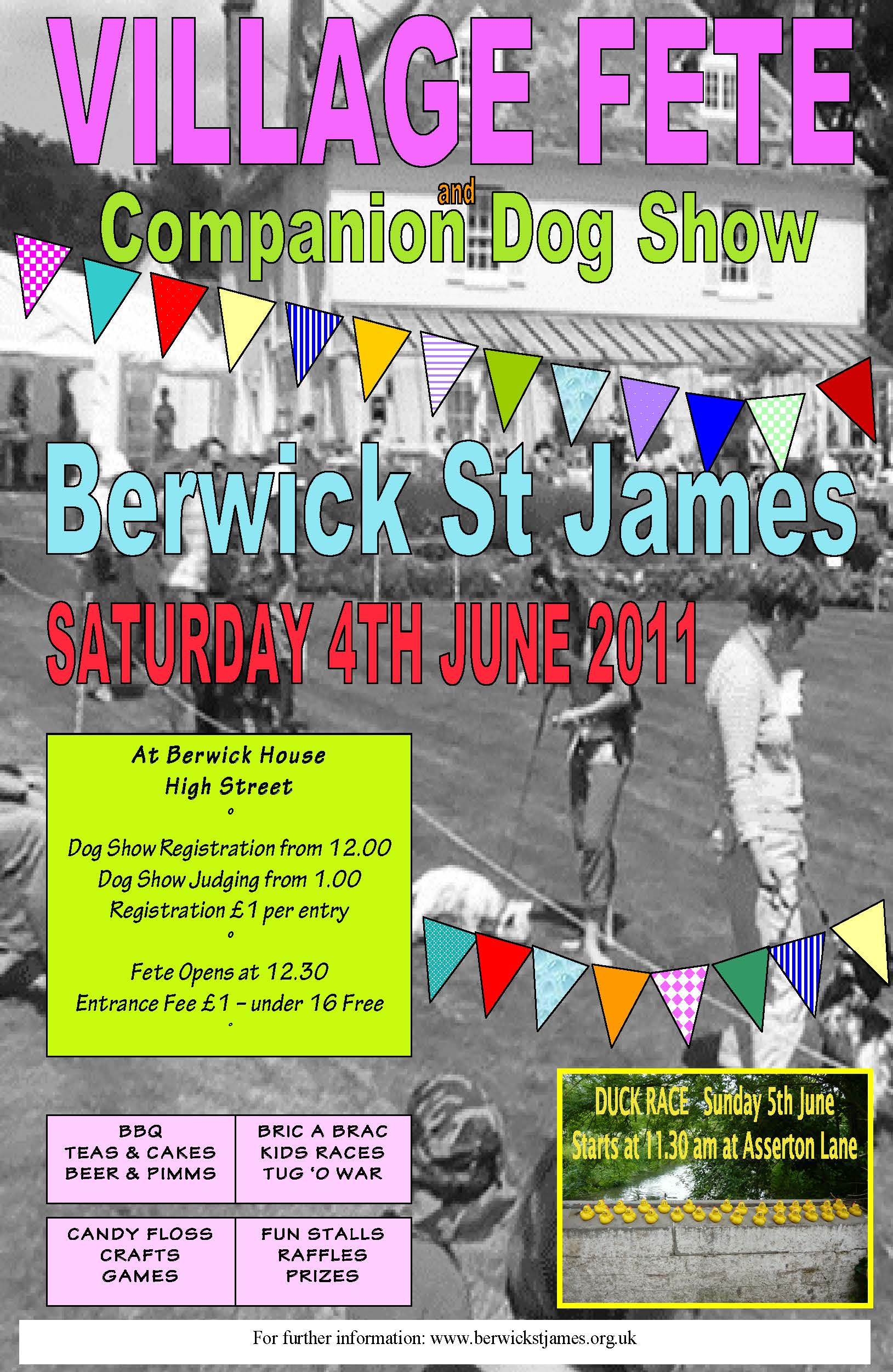Berwick St James Parish Village Fete - 4 June 2011