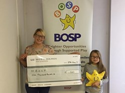 BOSP Brighter Opportunities through Supported Play Business Sponsorship