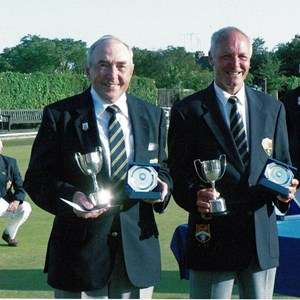 2007 Broadstairs Open Pairs Finalists - Don Jordan, Dave Christmas