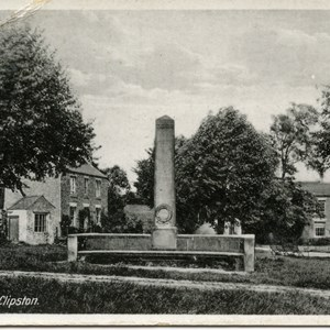 War Memorial and Green 1920's