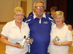 Runners Up 2016 - Maureen, Ted and Josie