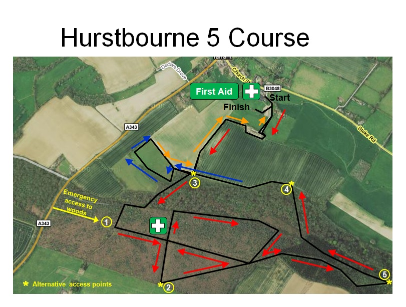 Hurstbourne 5 The course