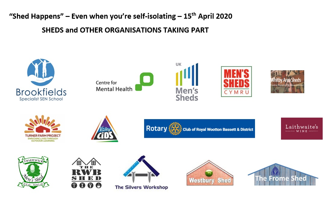 'Shed Happens' - Even if you're self isolating #4 - 15th April 2020