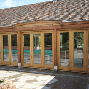 Bespoke Oak Windows