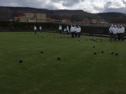 Lovely to see a full bowling green