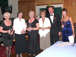 Hampshire Ladies' Champions - Pat, Sandy, Gloria & Carole