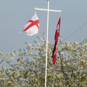 West Mersea Bowls Club 2019 St George's Day - Opening Drive