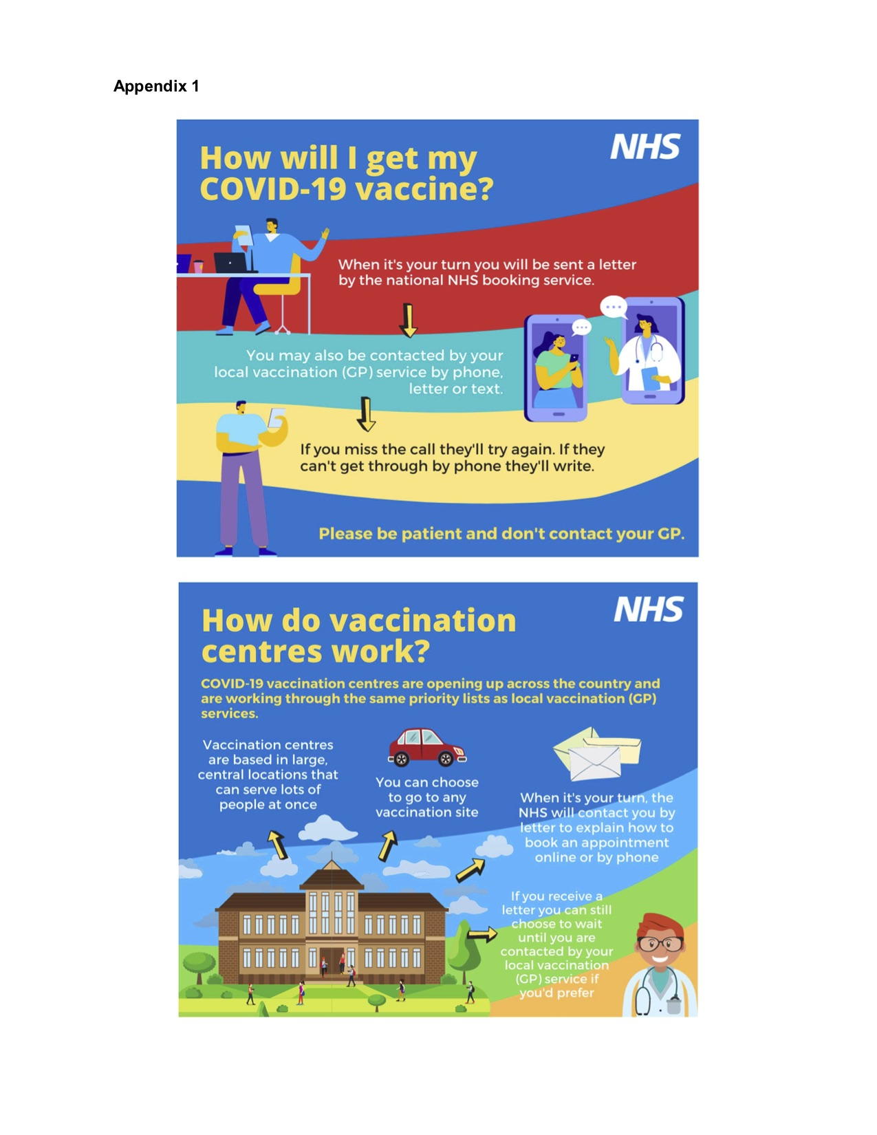 Droxford Village Community How Will I Get My Vaccine - explained