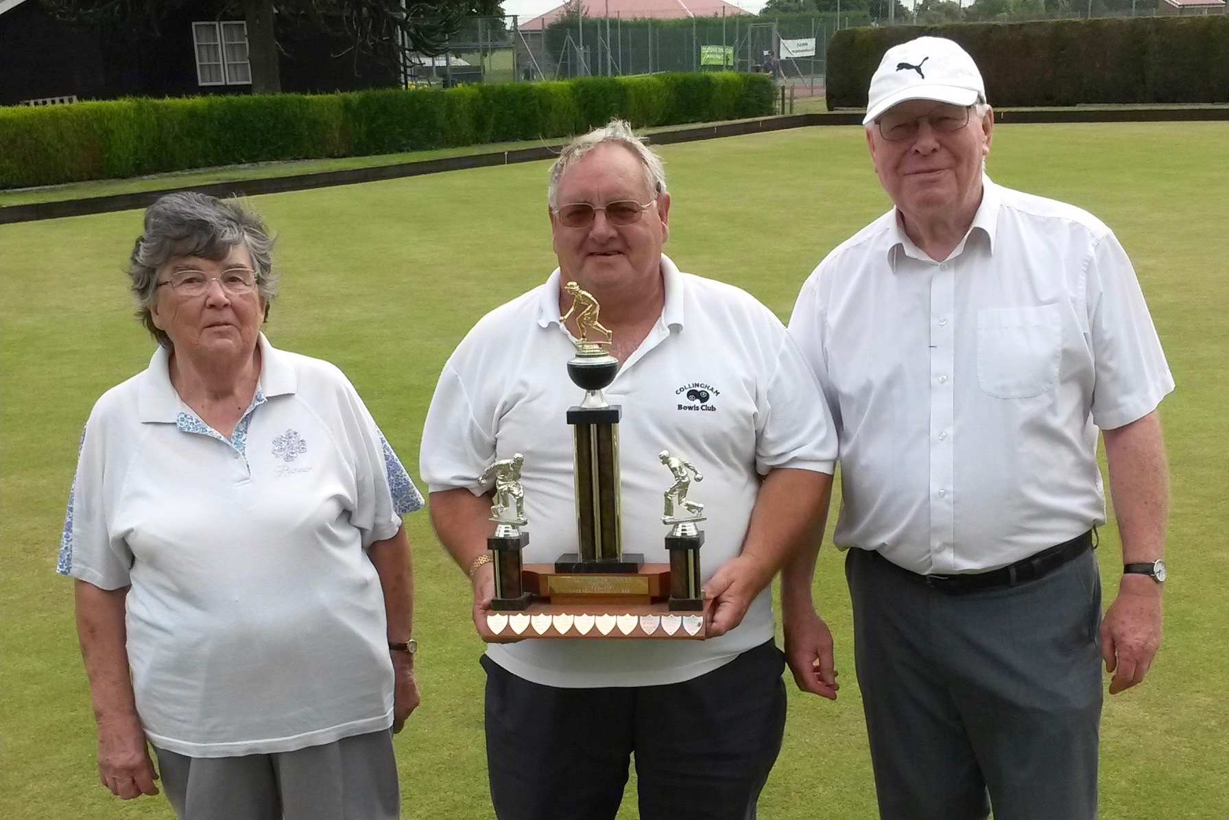 2016 Closed Trips Winners Anne Coleman, Robert Humphris & Mike Bates