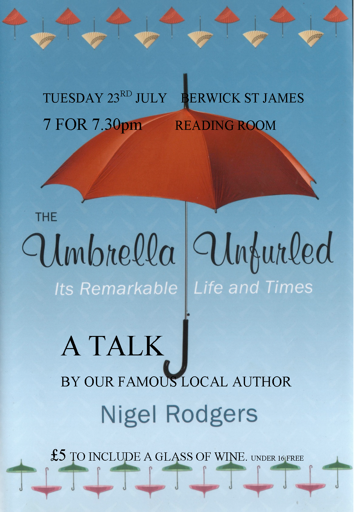 Berwick St James Parish Unbrella Unfurled