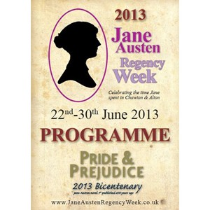 2013 Jane Austen Regency Week Programme
