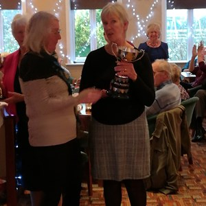 Ladies Championship Runner Up - Joyce Wing