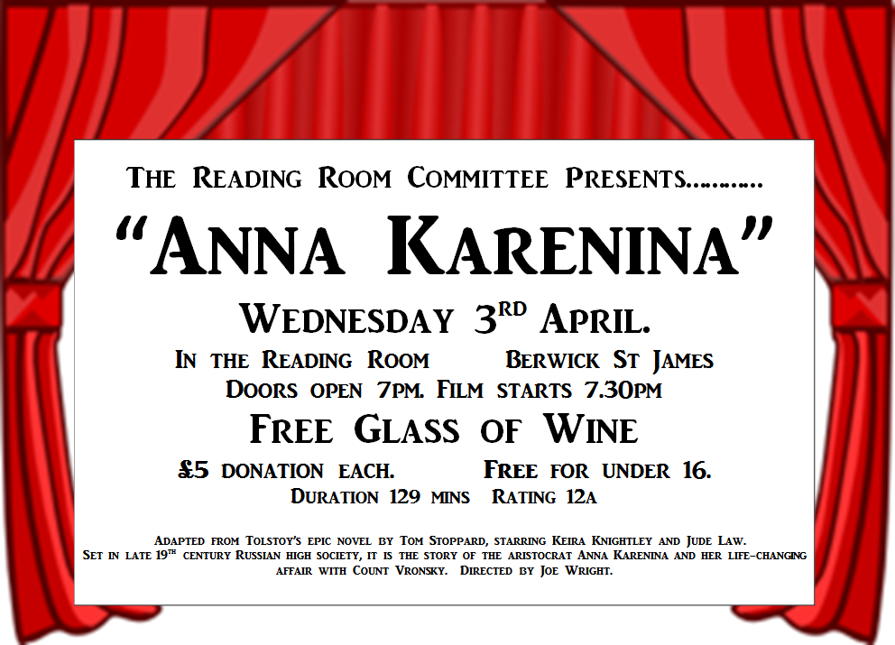 Berwick St James Parish Anna Karenina
