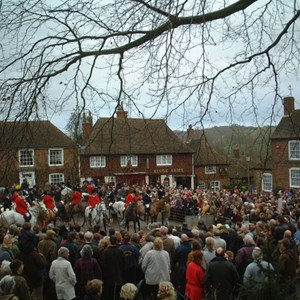 Boxing Day - East Kent with West Street Hunt
