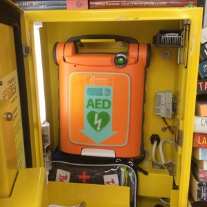 Bleasby Community Website Defibrillator