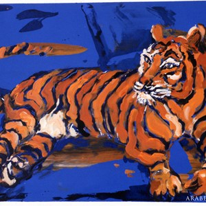 Tiger No: 3  Sold £150.00