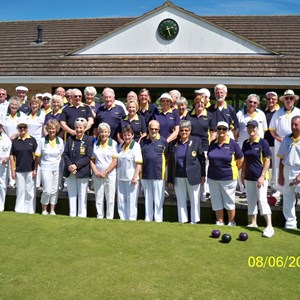 Mere BC vs Bowls Wiltshire 2014 (Mere BC 50th Anniversary)
